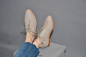 Martina Grey Loafers