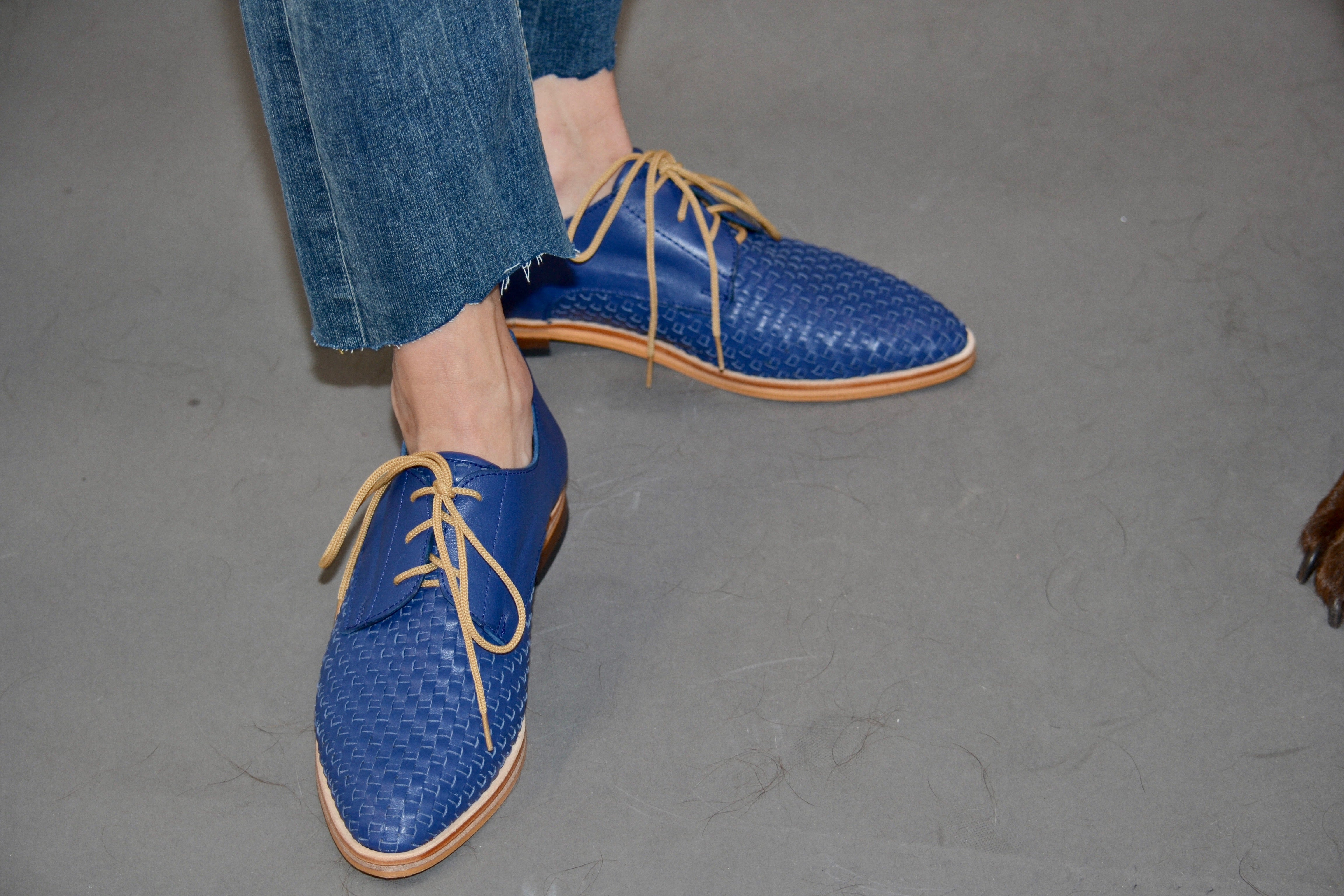 Martina Blue Loafers