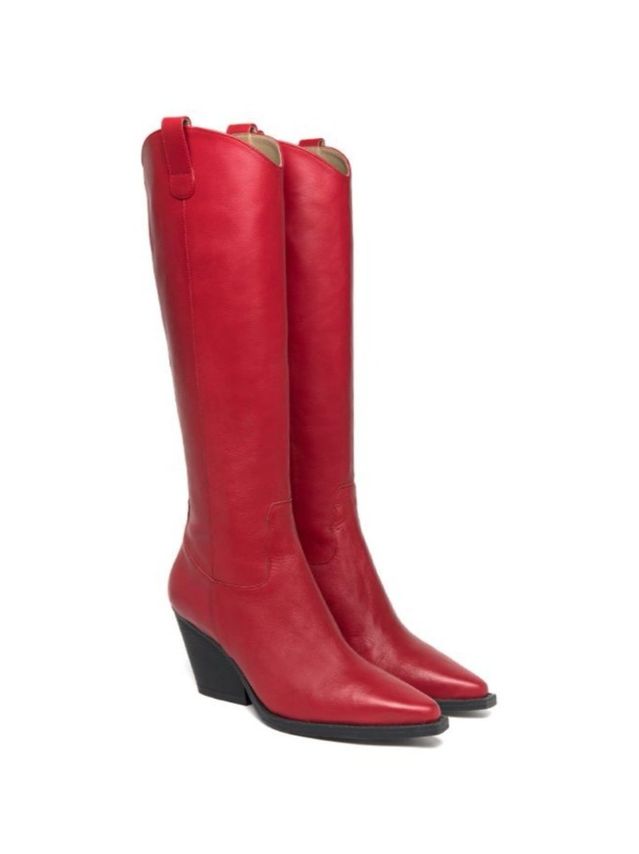 Sofie Red Boots