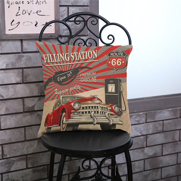 Filling Station - Red