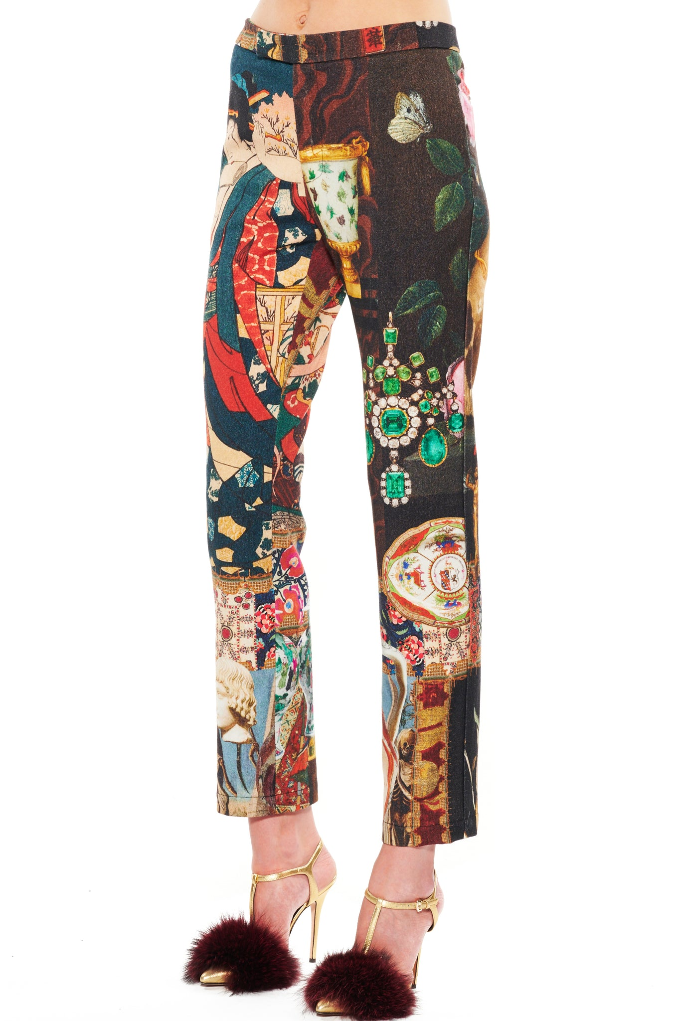"""MEMENTO MORI"" PANTS - Women's Bottoms - Libertine"