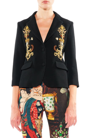 GOLD BOULLION BLAZER - Women's Jackets & Coats - Libertine