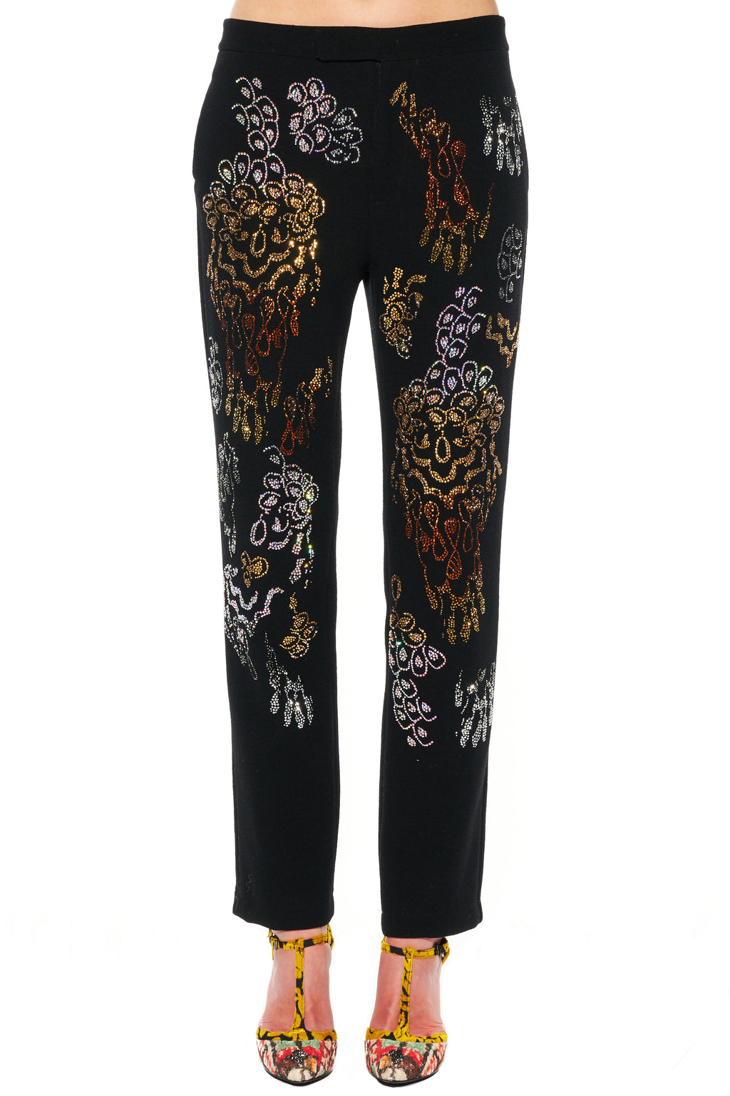 """PICASSO'S FLOWER"" PANTS - Women's Bottoms - Libertine"
