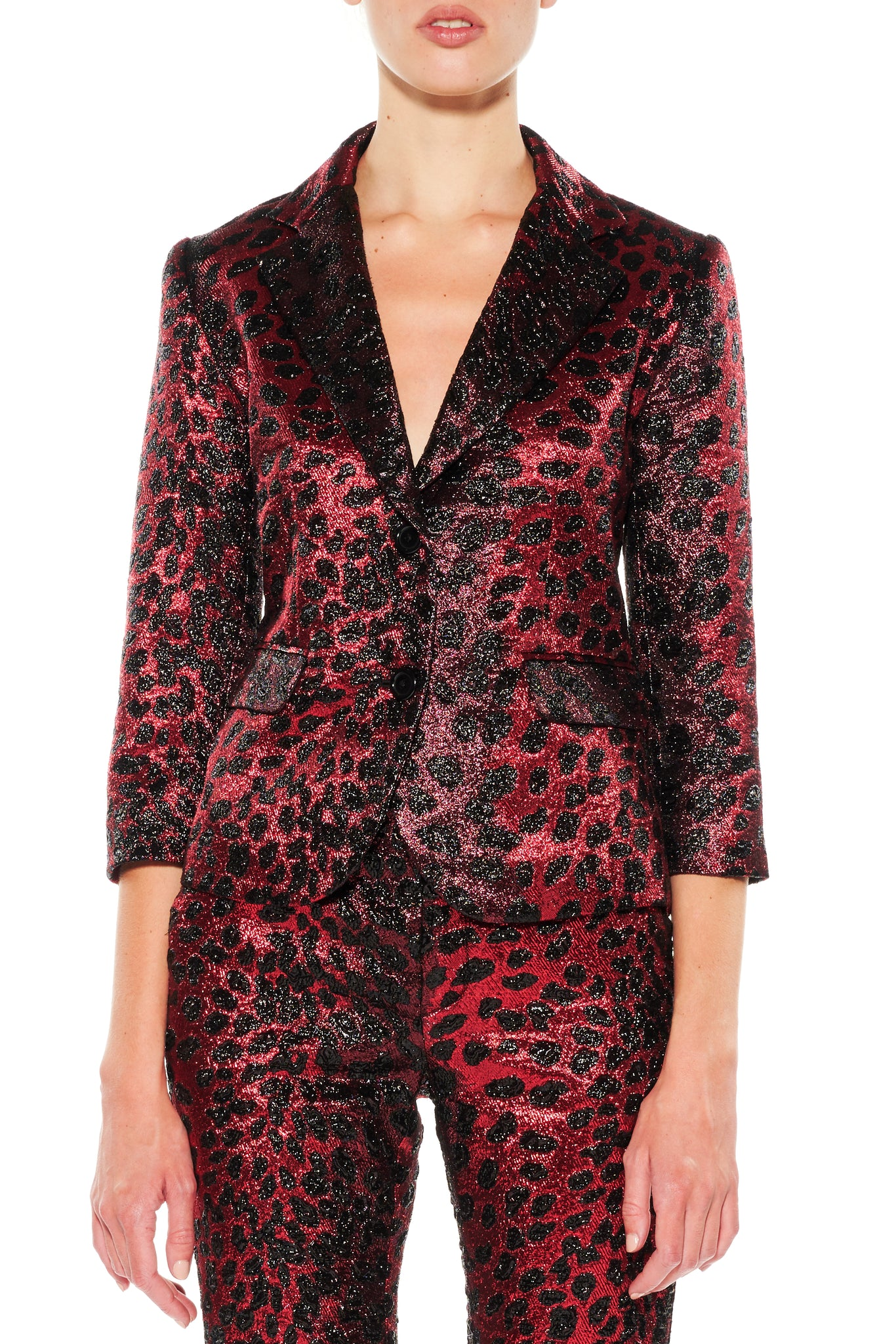 'NIGHT LEOPARD' BLAZER - Web Exclusives - Libertine