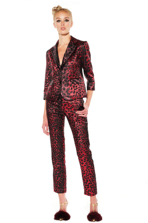 """NIGHT LEOPARD"" BLAZER - Women's Jackets & Coats - Libertine"