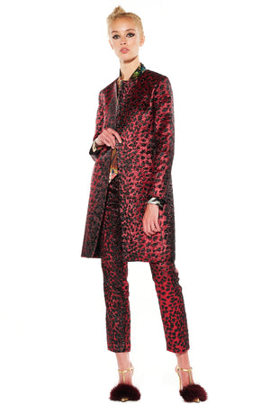 'NIGHT LEOPARD' DUSTER COAT - Web Exclusives - Libertine