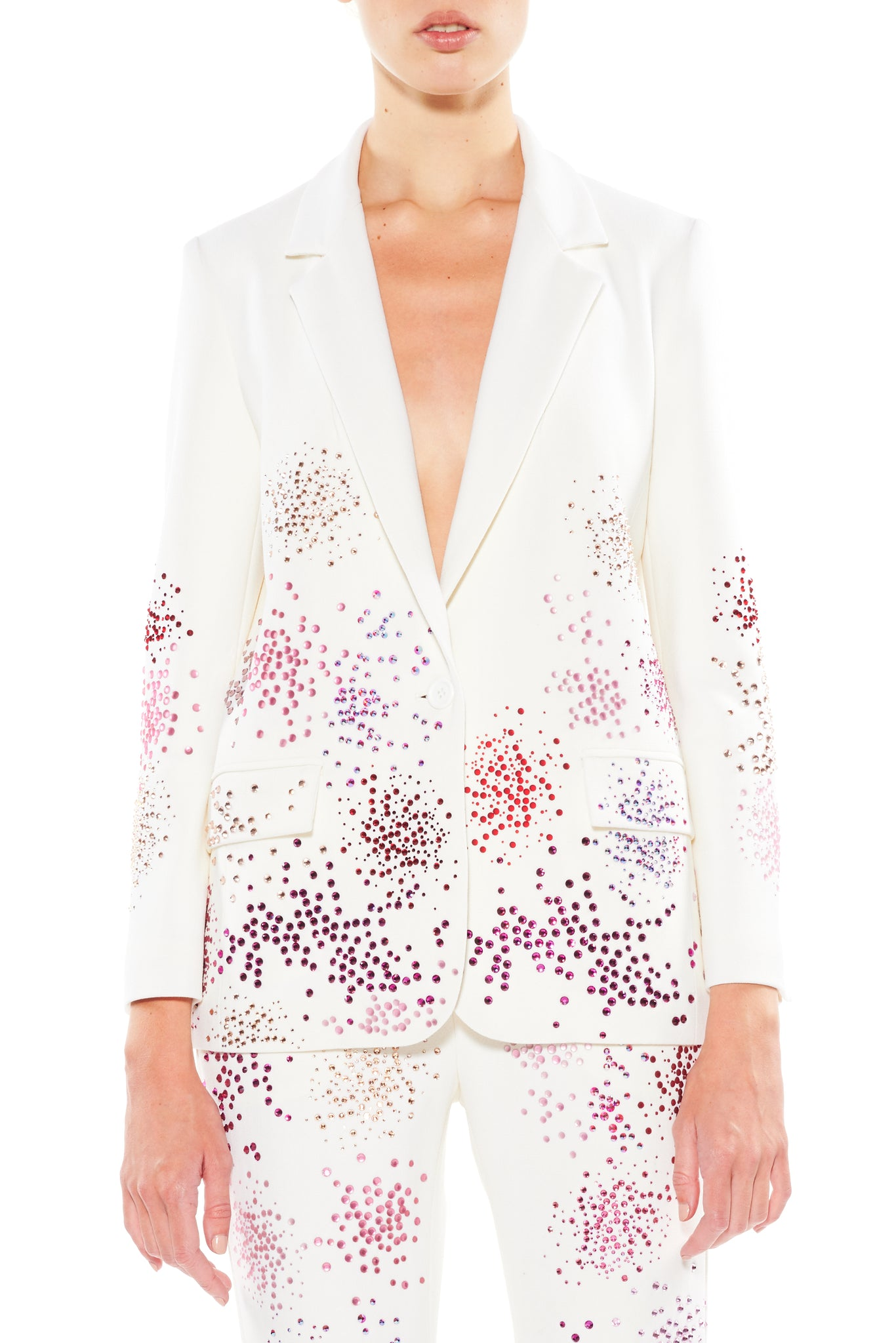 """MO' MONET MO' PROBLEMS"" LONG BLAZER - Women's Jackets & Coats - Libertine"