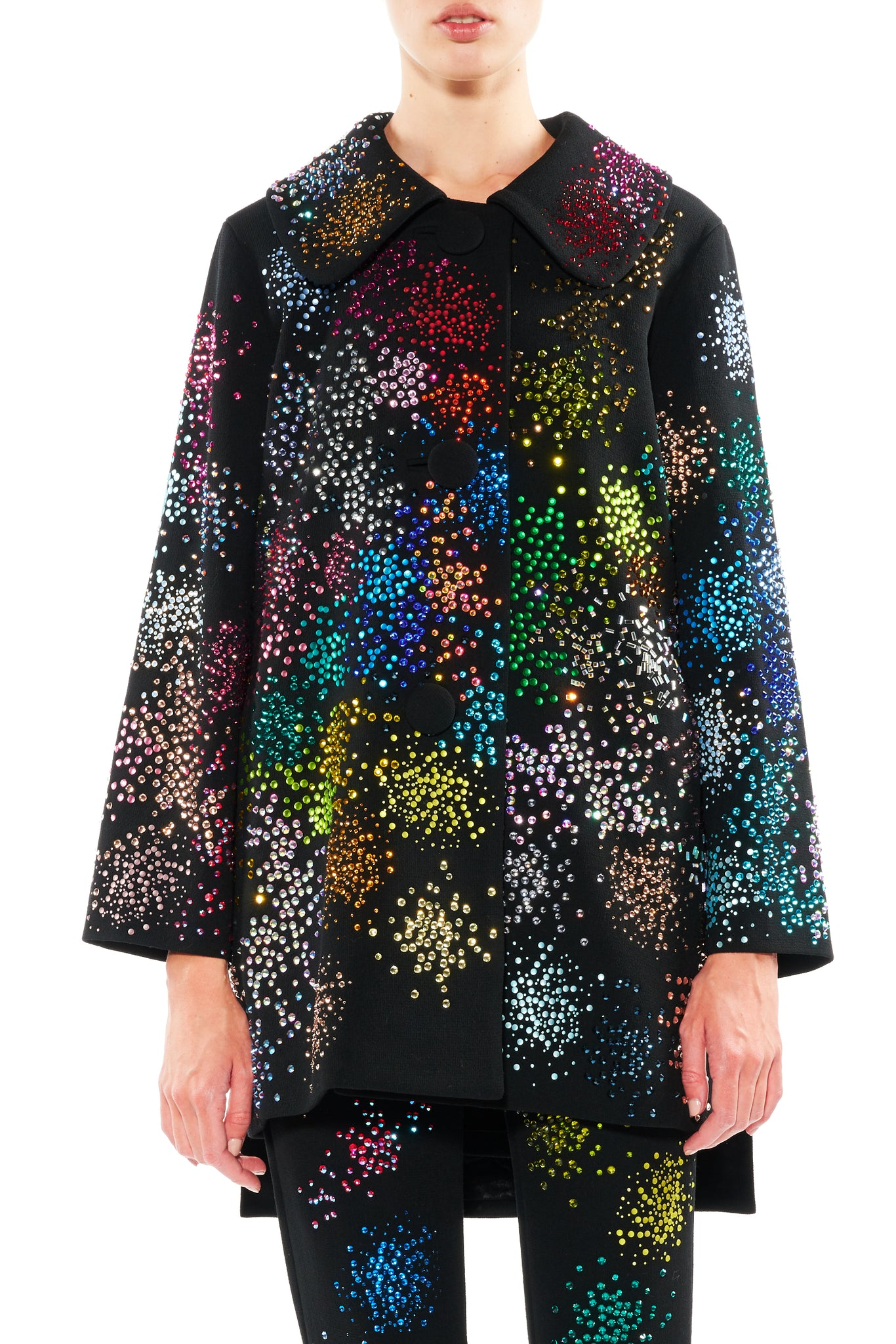 """MO' MONET MO' PROBLEMS"" CAPE COAT - Women's Jackets & Coats - Libertine"