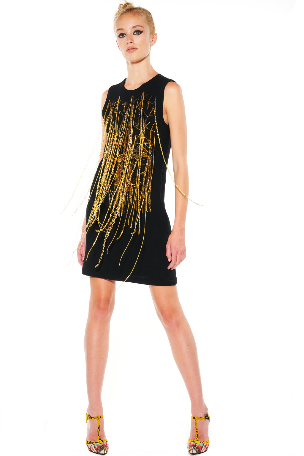 """CHAINS FOR THE BETTER"" SHIFT DRESS - Women's Dresses - Libertine"