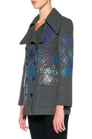 """MO' MONET MO' PROBLEMS"" PEACOAT - Women's Jackets & Coats - Libertine"