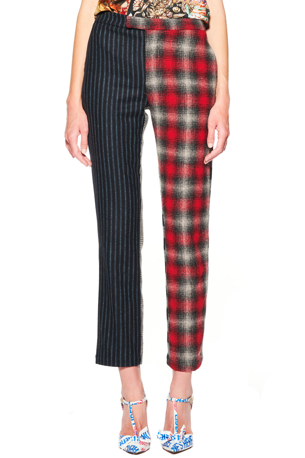 'PLAIDITUDES' PANTS - Web Exclusives - Libertine