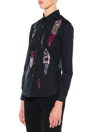 """TEAR YOUR HEART OUT"" CLASSIC SHIRT - Women's Tops - Libertine"