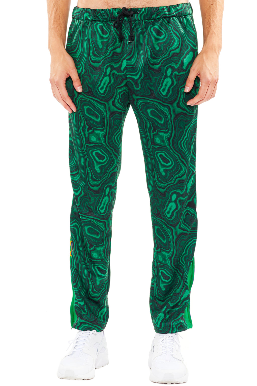 """HIGH AS A MALACHITE"" TRACK PANTS - Men's Bottoms - Libertine"