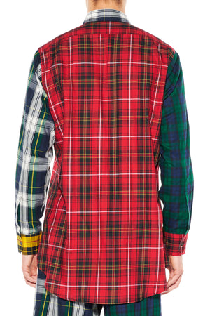"""PLAIDITUDES"" LONG CLASSIC SHIRT -  - Libertine"