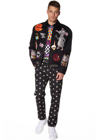 PATCH COLLAGE JACKET -  - Libertine