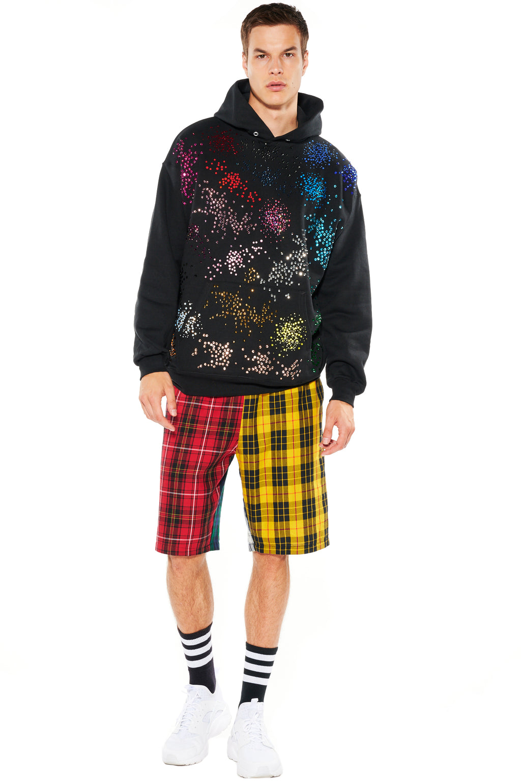 """MO' MONET MO' PROBLEMS"" HOODED SWEATSHIRT - Men's Tops - Libertine"