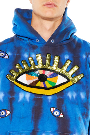 BIG EYE HOODED SWEATSHIRT - Unisex Sweats - Libertine