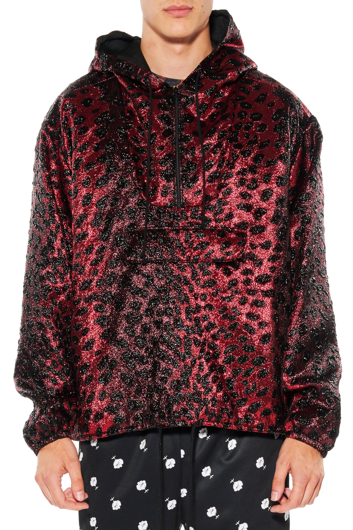 """NIGHT LEOPARD"" ANORAK - Men's Jackets & Coats - Libertine"