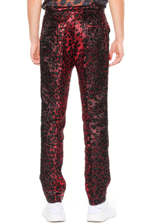 """NIGHT LEOPARD"" TROUSERS - Men's Bottoms - Libertine"