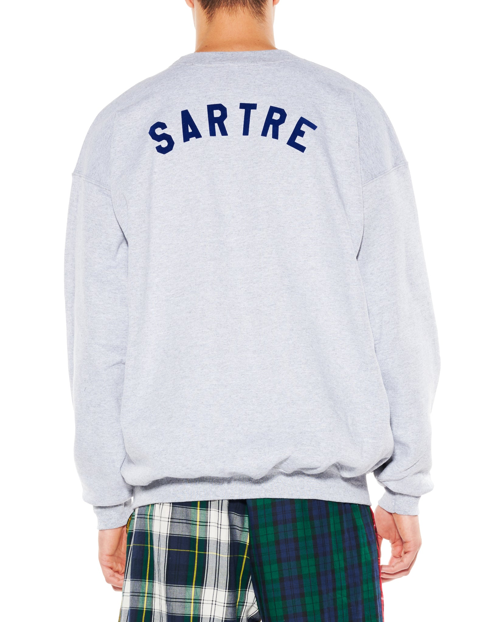 """SARTRE"" CREWNECK SWEATSHIRT - Men's Tops - Libertine"