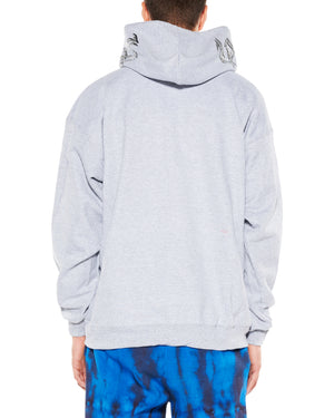 """LA DIEHARD"" HOODED SWEATSHIRT - Men's Tops - Libertine"