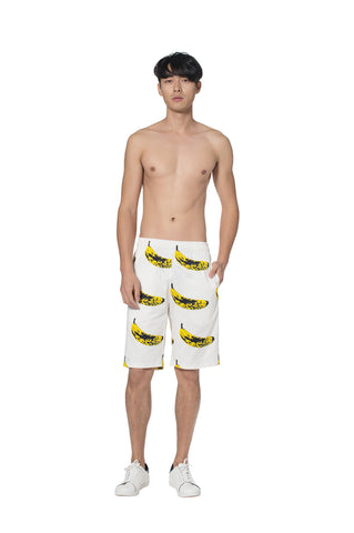 """VELVET BANANA"" COTTON SHORT - Men's Bottom's - Libertine"