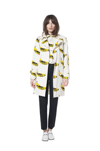 """VELVET BANANA"" TRENCH COAT - Women's Jackets & Coats - Libertine"