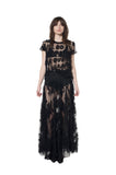 """A WINTER DREAM"" TULLE SKIRT IN BLACK - Skirts - Libertine"