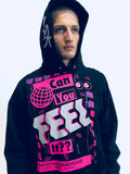 """CAN YOU FEEL IT?"" LOS ANGELES PULLOVER HOODIE - Unisex Sweats - Libertine"