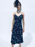 """HONG KONG GARDEN"" CHINOISERIE SLIP DRESS - Women's Dresses - Libertine"
