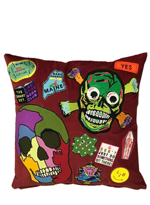 LIBERTINE PATCH PILLOW - Web Exclusives - Libertine