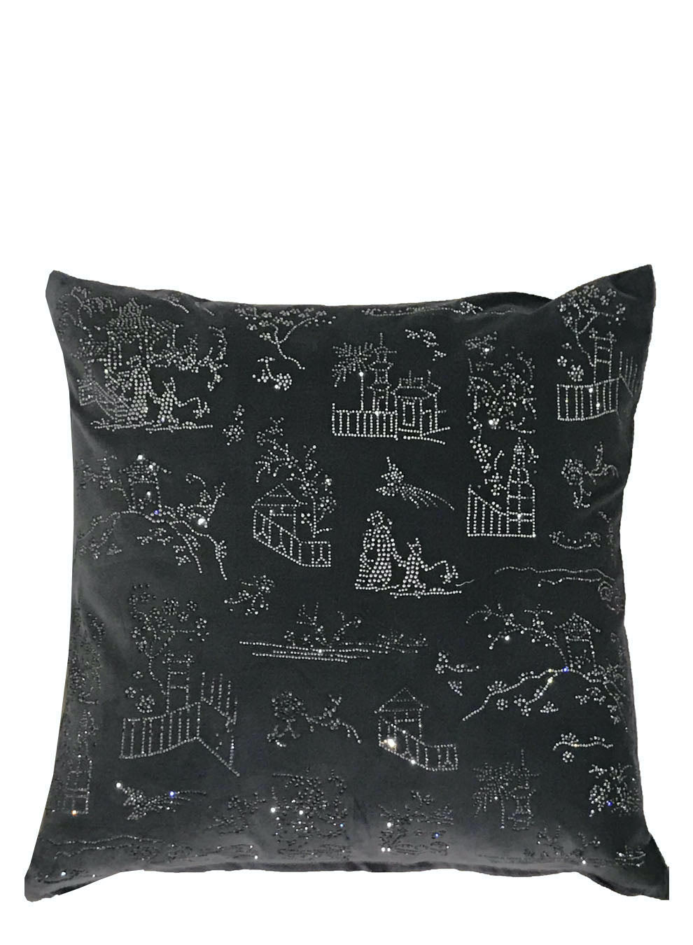 CHINOISERIE CRYSTAL PILLOW - Web Exclusives - Libertine