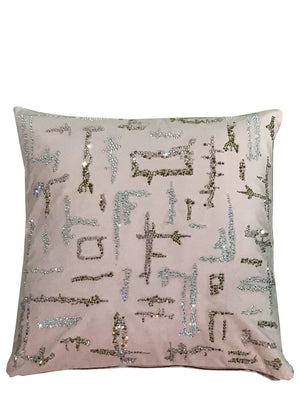 PINK GLAMOUR CRYSTAL PILLOW - Web Exclusives - Libertine