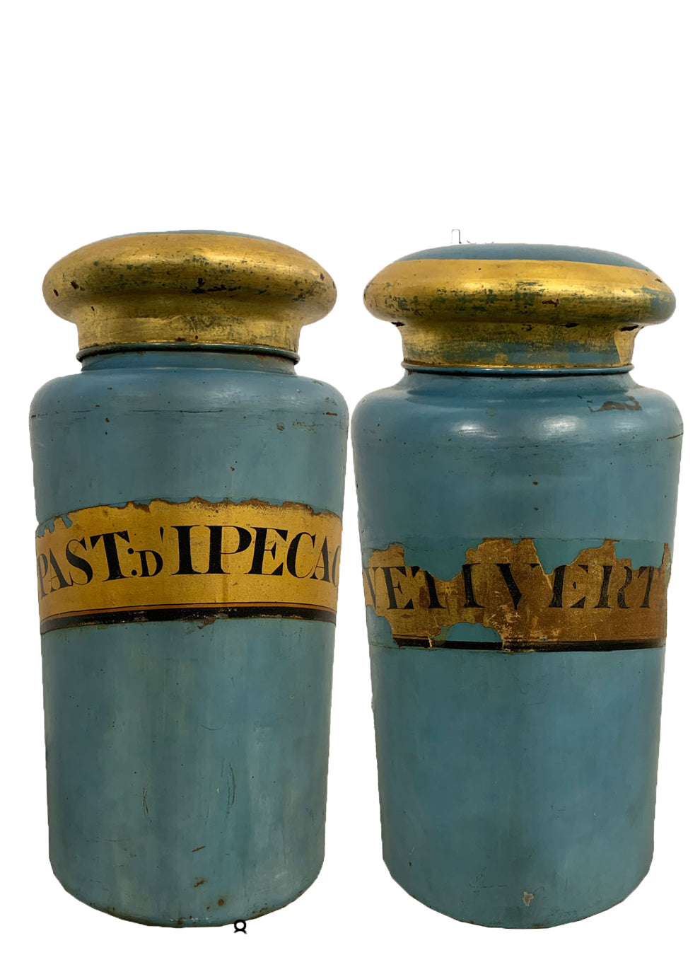 19TH CENTURY  ENGLISH TOLE CANISTERS - Accessories - Libertine