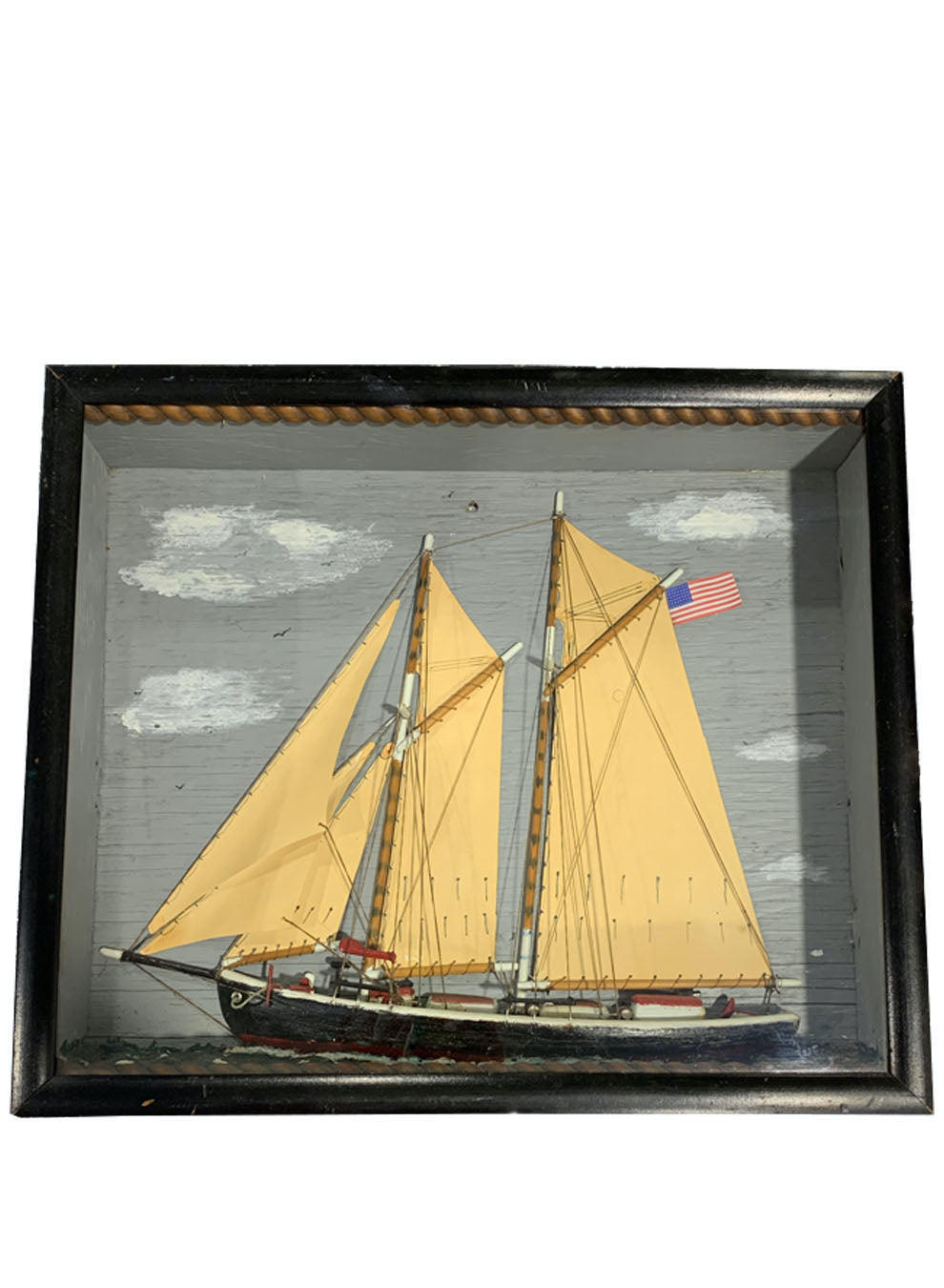 MID TO LATE 19TH CENTURY AMERICAN SHIP DIORAMA - Accessories - Libertine
