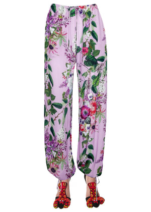''HAMISH FLORAL'' DRAWSTRING PANTS - Women's Bottoms - Libertine