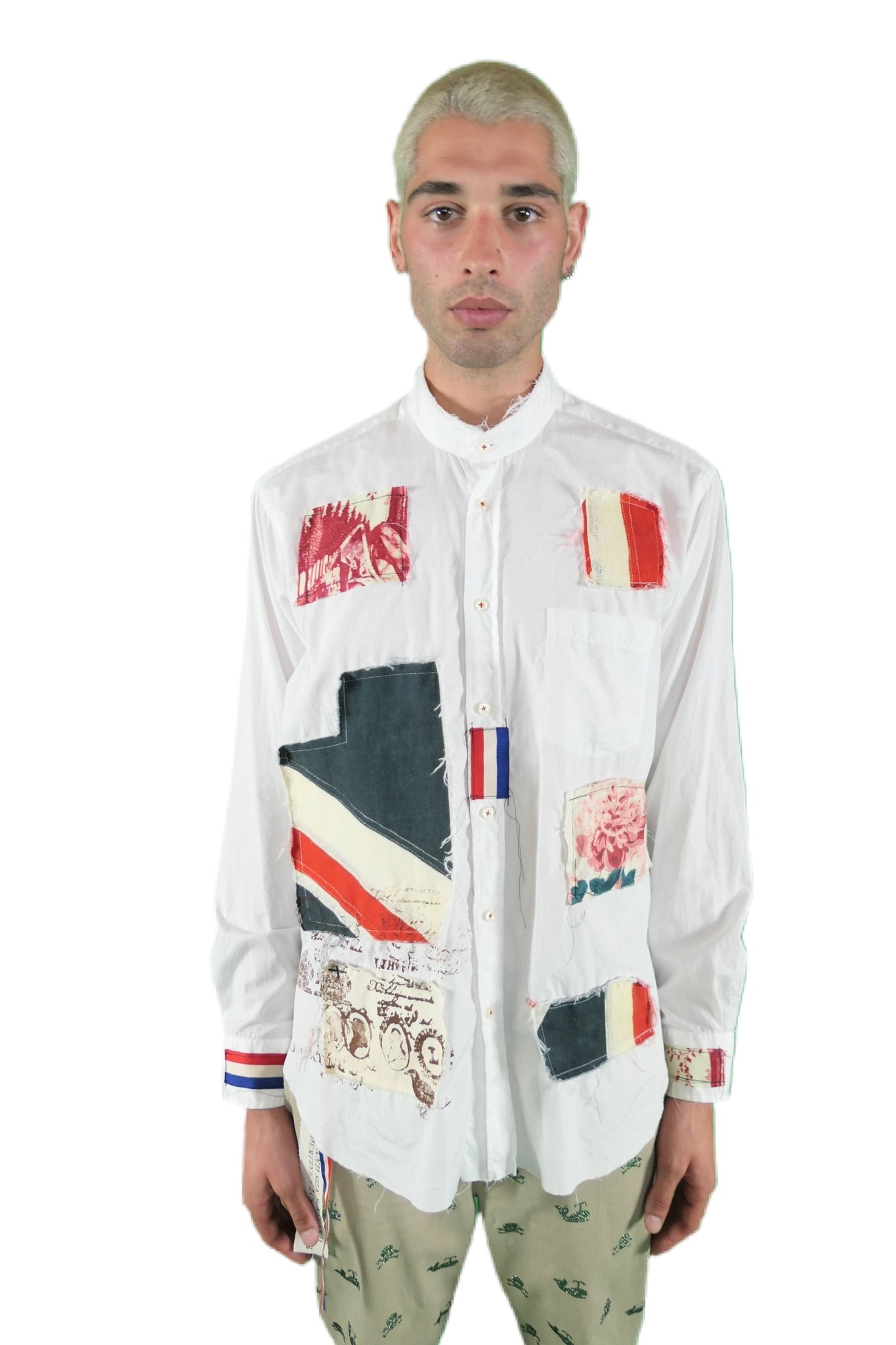 Patchwork Deconstructed Classic Shirt - Spring 2021 - Libertine