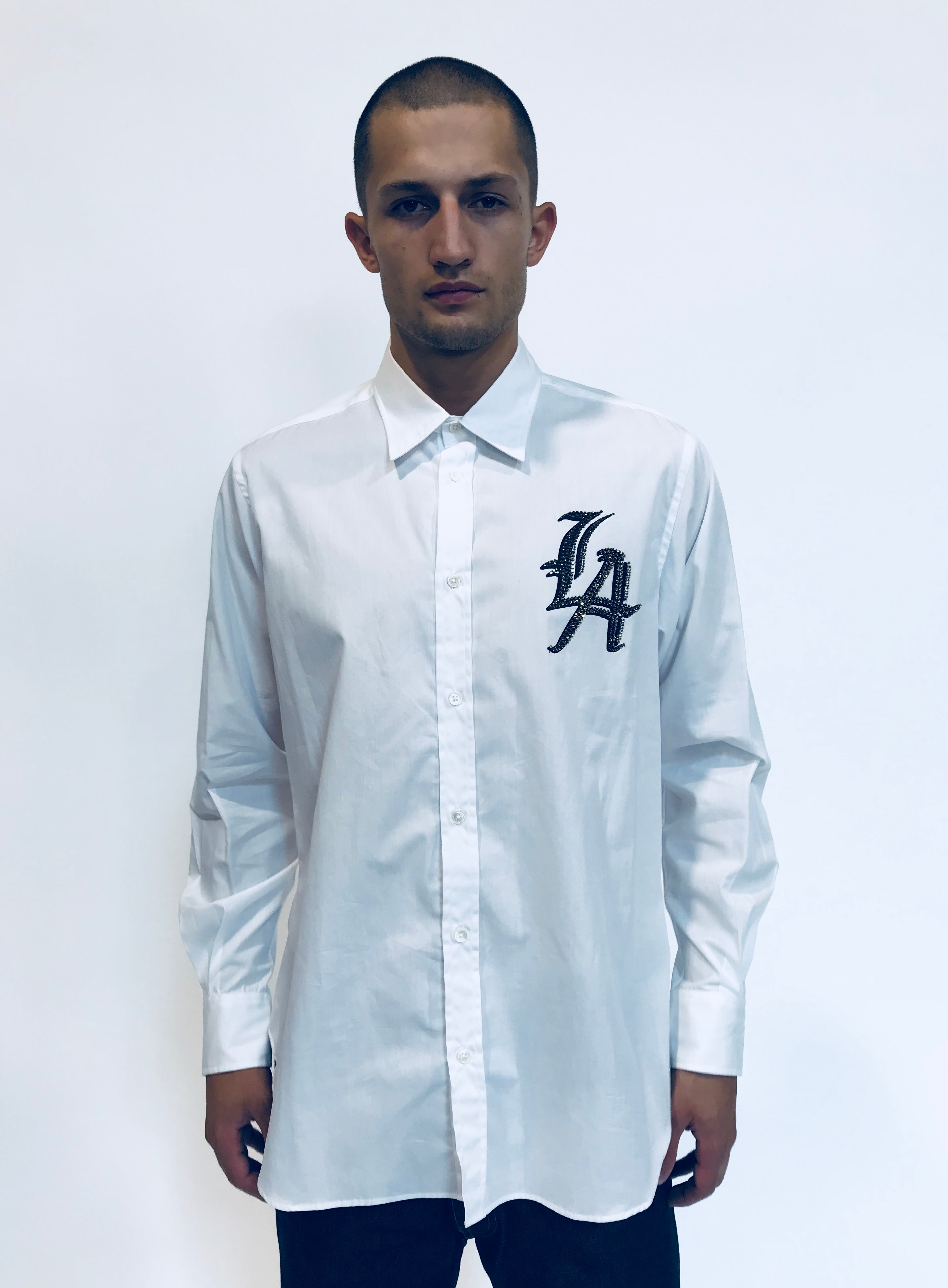 """LOCALS ONLY"" LOS ANGELES CLASSIC SHIRT - Men's Tops - Libertine"