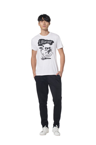 """UP IN SMOKE"" T-SHIRT - T-Shirts - Libertine"