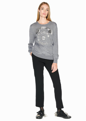 RINGY DINGY CASHMERE SWEATER - Women's Knits - Libertine