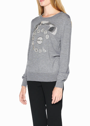 'RINGY DINGY' CASHMERE SWEATER - Women's Knits - Libertine