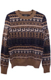 LOVE 4 LIFE CREWNECK CASHMERE PULLOVER IN TAN -  - Libertine