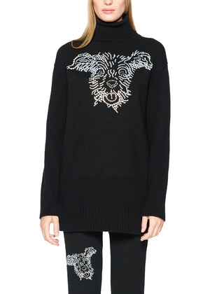 'RUBY TUESDAY' CASHMERE TURTLENECK SWEATER - Women's Knits - Libertine