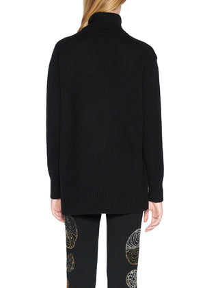 'NOUVEAU' CASHMERE TURTLENECK SWEATER - Women's Knits - Libertine