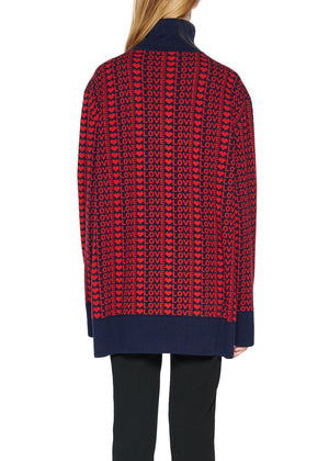 LOTS OF LOVE CASHMERE TURTLENECK SWEATER - Women's Knits - Libertine