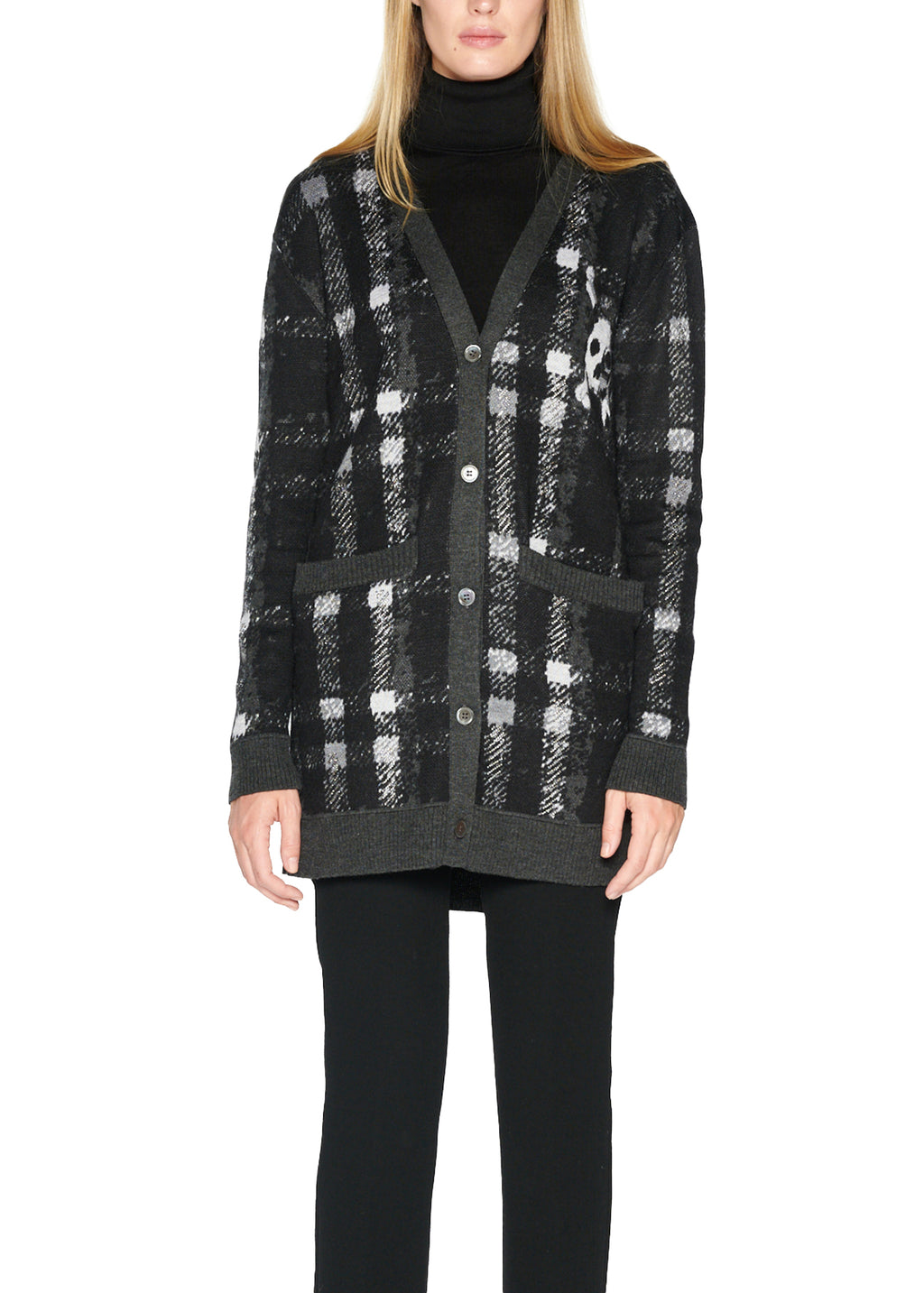 'Libertine till The End' Cashmere Cardigan - Women's Knits - Libertine