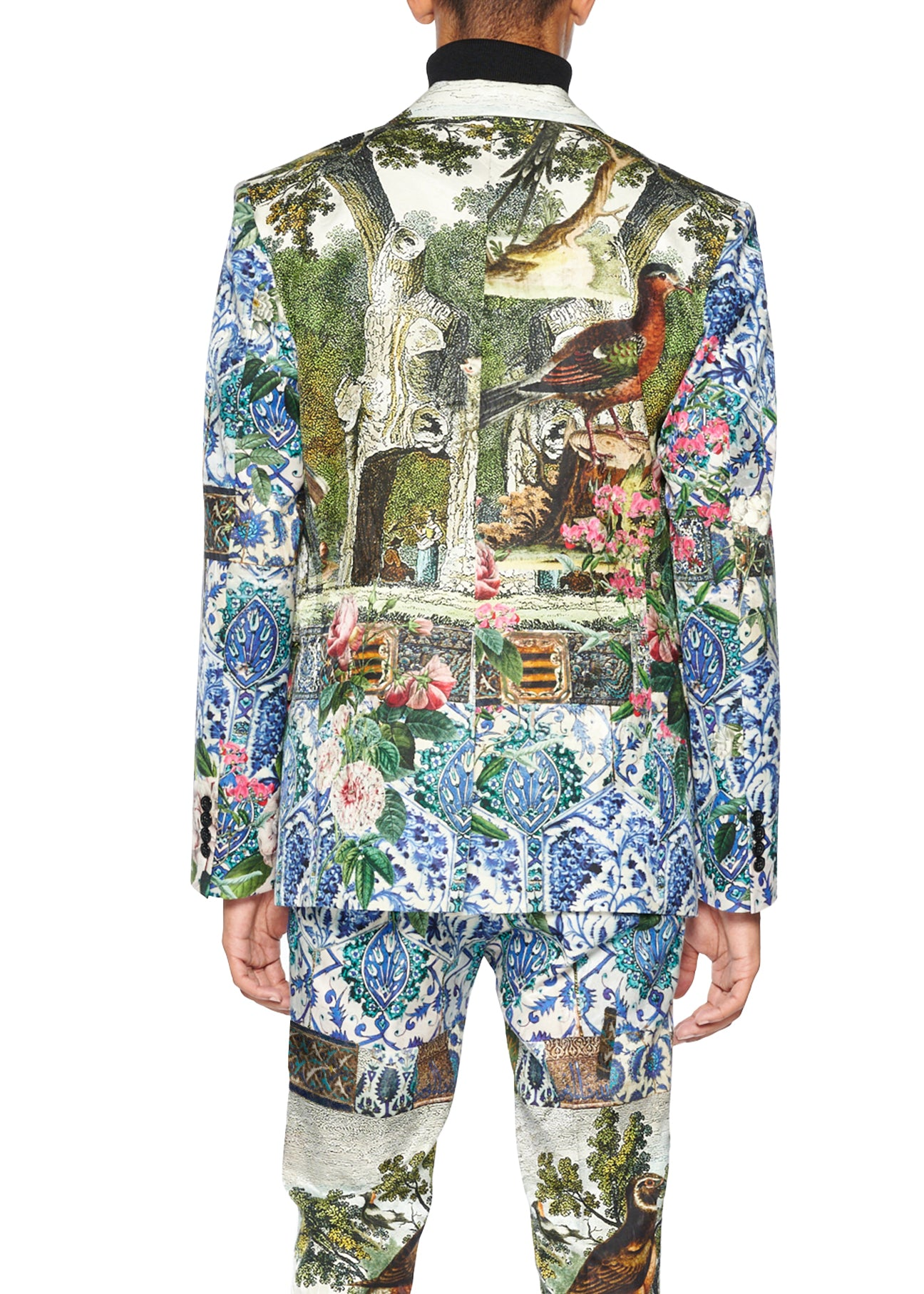 'Ottoman Empire Birds' Suit Jacket - Men's Jackets & Coats - Libertine