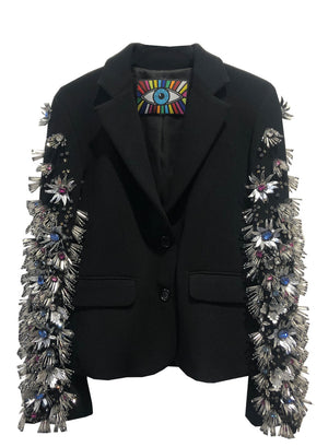 'SPIKY FLOWERS' BLAZER - One of a Kinds - Libertine