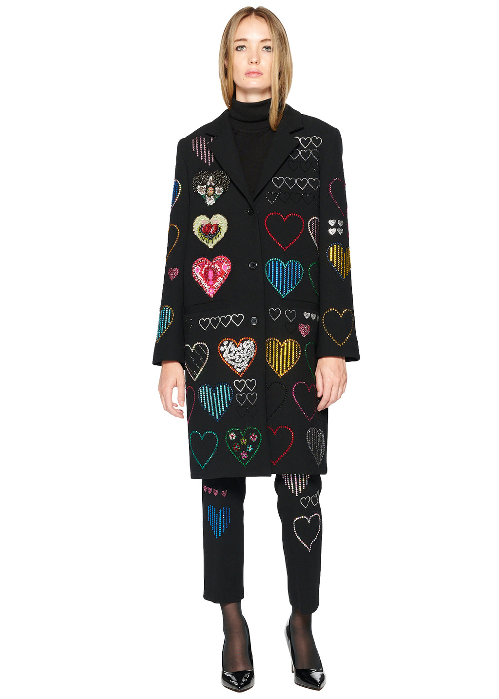 'HEARTS' COAT - Women's Jackets & Coats - Libertine