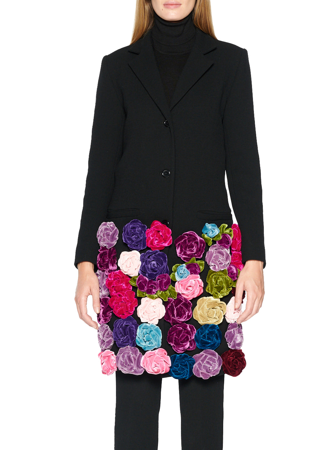 Velvet Roses Coat - Women's Jackets & Coats - Libertine